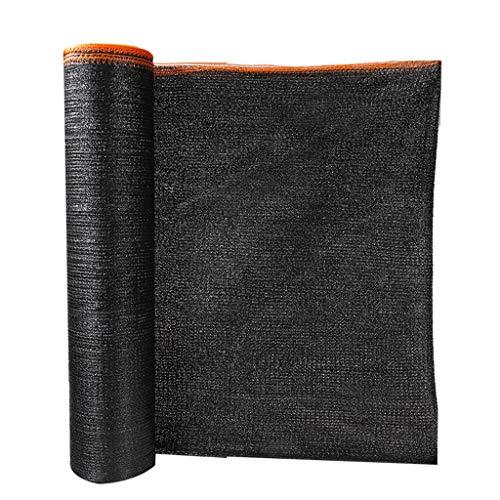 Lixin Abat-jour d'épaississement extérieur en filet de polyéthylène haute densité (Couleur : NOIR, taille : 8M×50M)