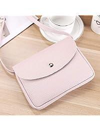 Vintage Design Women Solid Color Single Shoulder Bag Simple Lady Party Wedding PU Leather Crossbody Shoulder Bag