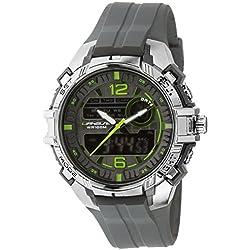 UPhasE Quartz Watch with White Dial Analogue-Digital Quartz Chronograph, 700-200 up