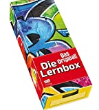 Die Lernbox (DIN A8) - Design: Graffiti: Lernbox zum Selbstbefüllen, fertig montiert