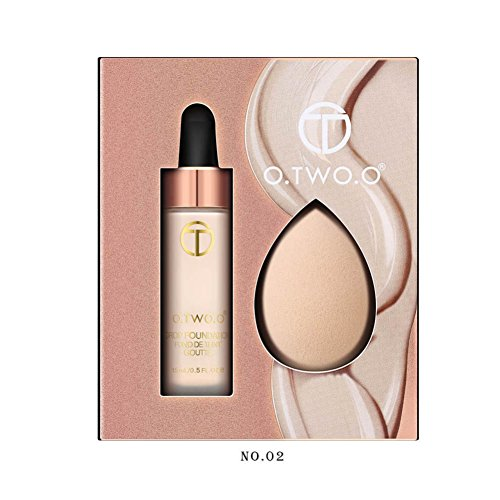 OYOTRIC The Oil Control Base BB Foundation Corrective Makeup Whitening Hydrating Invisible Liquid Foundation Water Proof