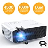 Why should you choose the projector? This mini portable apeman projector is with a brightness of 3800 lumens, with a life of 55,000 hours supported multimedia full HD 1080p video and multi-input connectivity to meet your various needs. In addition, i...
