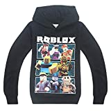 Thombase Niños Roblox Jugador Pull-Over Sudaderas con Capucha Red Nose Day Cool Juego Pull-Over...