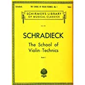 School of Violin Technics - Book 1: Exercises for Promoting Dexterity