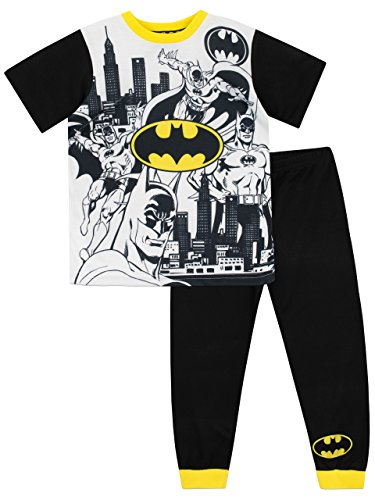 Batman pigiama a maniche corta per ragazzi dc comics multicolore 9-10 anni