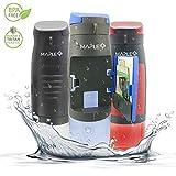 Sports Water Bottle BPA Free - Non Toxic & Eco Friendly Tritan Plastic