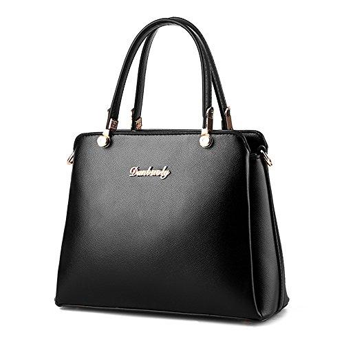 HerHe ,  Damen Tasche Schwarz