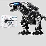 Pinjeer 90 Min Spielzeit Kinder Pädagogisches Fernbedienung Dinosaurier Spielzeug Elektrische Intelligente Krieg Drachen Tyrannosaurus Roboter Pädagogisches Spielzeug Geschenk für Jungen 3 Jahre Alt