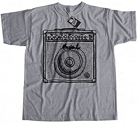 Guitar Amp T-Shirt 100% Premium Cotton