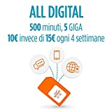 Wind SIM ricaricabile con offerta All Digital