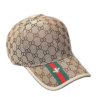 Baseballmütze, Karierte Mütze - Outdoor Sonnenblende Hut - Herren Damen Herbstmütze - Mode Trend brauner Hut von MZ-Hut bei Outdoor Shop