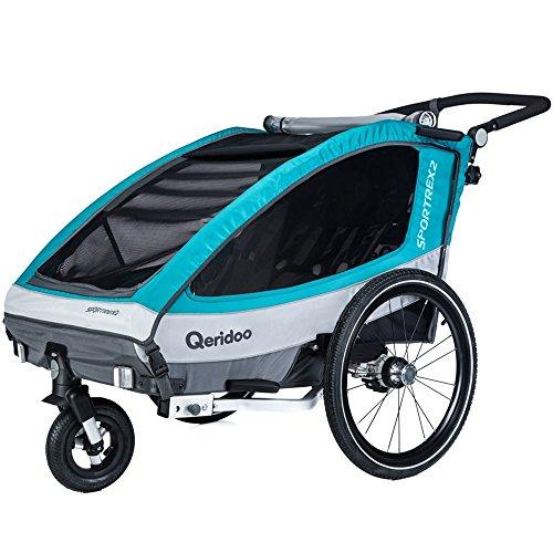 Qeridoo Sportrex 2 Fahrradanhänger, 2018