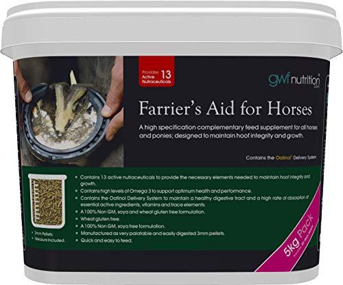 Aids-nahrungsergänzungsmittel (GWF Nutrition Farriers Aid Nahrungsergänzungsmittel für Pferde, 5 kg)