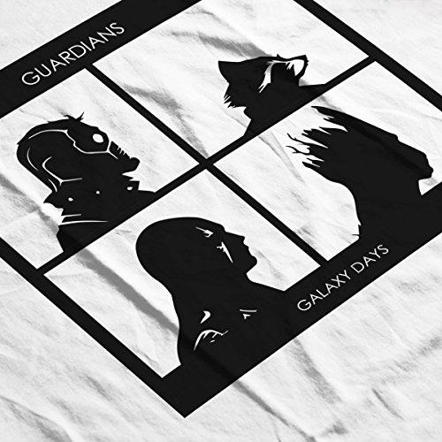 Guardians Of The Galaxy Days Gorillaz Album Art Women's T-Shirt white