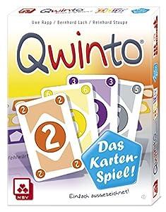 Nürnberger Spielkarten Tarjetas Verlag 08819908044-Juego de Cartas qwinto,