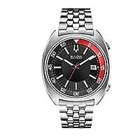 Bulova unisex-Armbanduhr Snorkel Analog Quarz Edelstahl 96B210