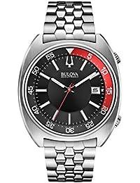 Bulova 96B210 Men's Watchs BA11 Silver Steel Bracelet Watch