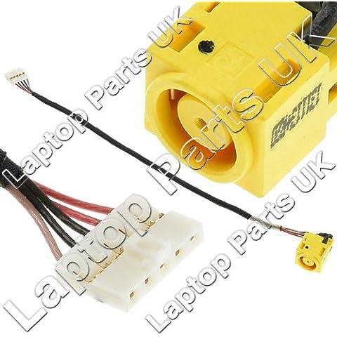 LENOVO Essential B590 series DC Power Jack, Conector de Alimentación, Enchufe, Conector de puerto con el cable p/n: 50.4TE08.031