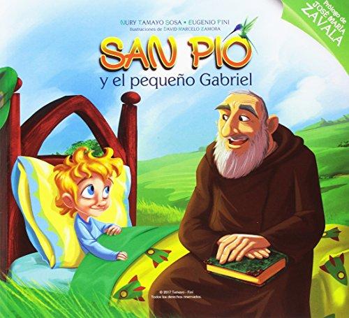 San Pio y el pequeño Gabriel