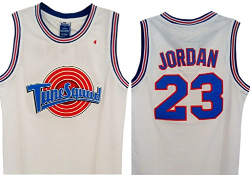 KUMI-Jersey Space Jam Trikot Michael Jordan Space Jam L Mehrfarbig (Trikot Michael Jordan)