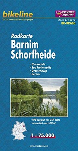Barnim / Schorfheide Land Cycle Map 2010 por Esterbauer