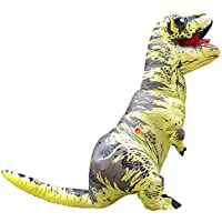73defac3c38a YOWESHOP T-Rex dinosauro gonfiabile costume – Natale festa di Halloween  Cosplay travestimento adulto