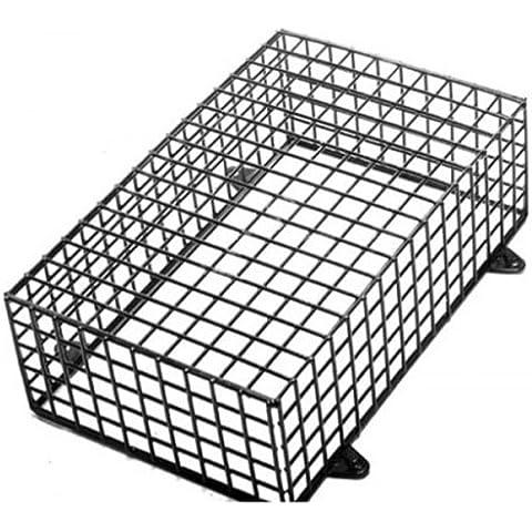 Jaula de malla de acero 16x 10x 5para caja de Bell PIR Luz Heavy Duty