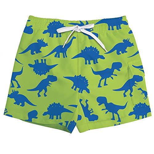 ALISISTER Bañador Niño 3-4 Años 3D Cool Impresión de Dinosaurio Pantalones...