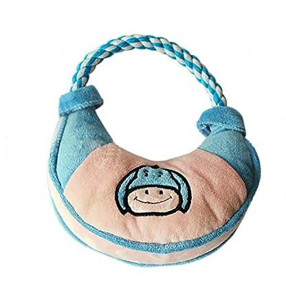 Lovely Handbag Shape Pet Dog Puppy Plush Chew Biting Play Fetch Training Toy - Random Color Random Style 2