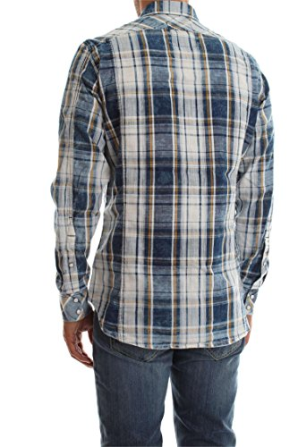 G-STAR RAW Herren Freizeithemd 3301 Shirt L/S Milk