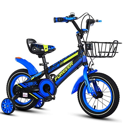HYCy Children's Bicycle, Boys Bike, 12 Inch, Suitable for 2-5 Years Old Boy