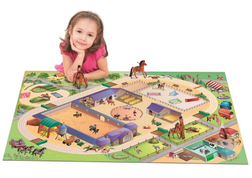 house-of-kids-11233-e3-quadri-tapis-de-jeu-cercle-equestre-connect-100-x-150-cm