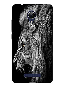 TREECASE Designer Printed Soft Silicone Back Case Cover For Micromax Canvas Doodle 4 Q391