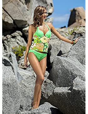 Moderno y cómodo bikini swimsuit _ elegante sello dividido reunido moderno y cómodo bikini bañadores bañador,...