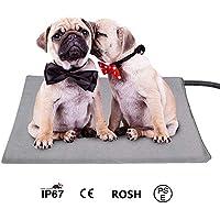 ACLBB Colchón Calefactor para Mascotas y colchón para Perros, termostato Lavable a máquina, Ideal