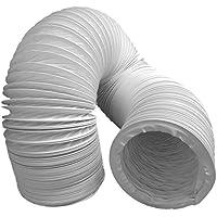 Abluftschlauch PVC flexibel Ø 100 / 102 mm, 3 m z.B. für Klimaanlagen, Wäschetrockner, Abzugshaube