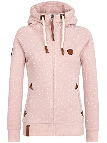 Naketano Damen Sweatjacke Rose
