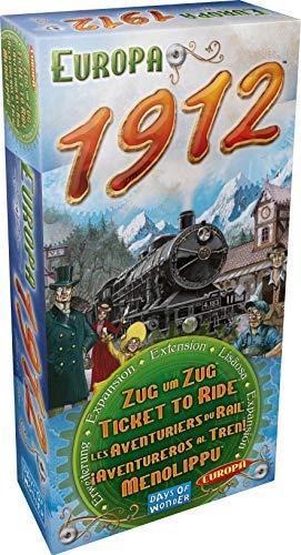Zug um Zug Europa 1912 - Spielzeug Zug-depot