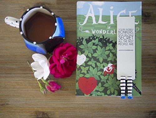 Alice im Wunderland – handgemachtes Lesezeichen - 4