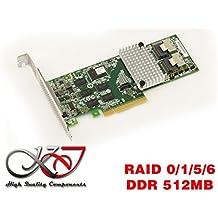 Kalea-Informatique–Scheda controller PCIe 2.0SAS + SATA–8porte–Raid 0/1/10/6–MegaRAID 9261–8I–memoria cache 512M–Microsoft® Windows® 2000, 2003, XP32/64, 2008, Vista32/64, Seven, 8, 8.1e 10(32/64)–, Linux® (Suse®, Red Hat®), Solaris®, vmware®