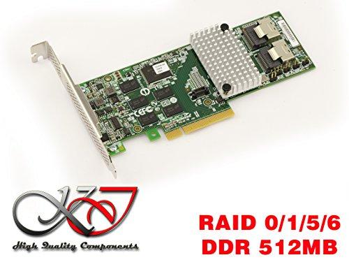 LSI MegaRAID SAS 9261-8i (LSI00212) (Ddr-sdram-controller)