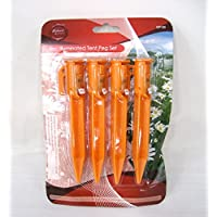 4pcs LED Light Illuminated Tent Peg Set GP103 25