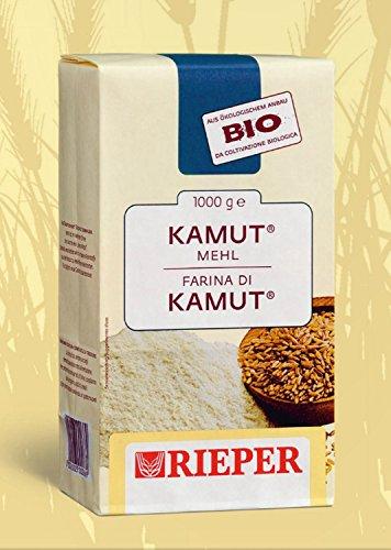 Farina biologica di grano khorasan KAMUT Rieper 1 kg.
