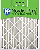 Nordic Pure 20x 24x 4m13–120x 24x 4Merv 13Bundfaltenhose AC Ofen Luftfilter, Box von 1, 4-Zoll