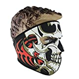 Sports de plein air Haze Tête de mort fantôme Masque complet pour moto Cyclisme Ski anti-poussière Bouche Masque, Couleur 1#