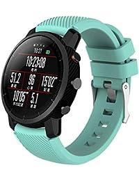Correa de Reloj Reemplazo, YpingLonk Silicona Suave para Amazfit Stratos Smart Watch 2 Moda Pulsera