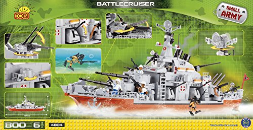 COBI Small Army Battlecruiser Building Kit