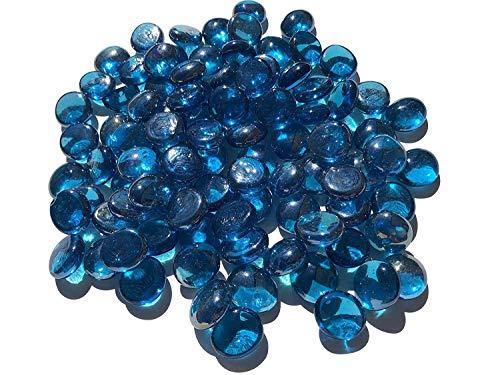 CRYSTAL KING Mezcla Océano Azul Cristal Piedras Nuggets