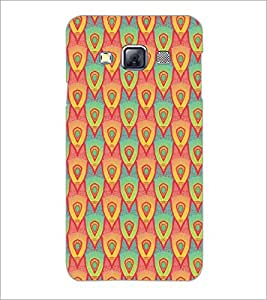 PrintDhaba Pattern D-5244 Back Case Cover for SAMSUNG GALAXY A3 (Multi-Coloured)