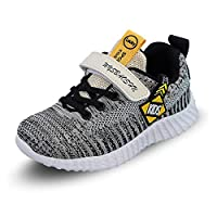 Minbei Boys Trainers for Outdoor Sports Shoes Breathable Boy Running Shoes Lighweight Kid